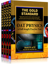 Gold Standard Dental Admission Test (DAT) Comprehensive Review, Practice Tests and Online Access Card, Complete 4-Book Set
