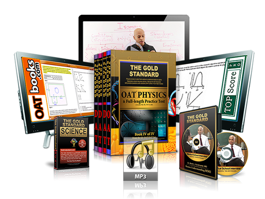Complete OAT Prep Review: Home Study Course with 5 Full-length Practice Tests (4 Books, Online Videos, MP3s, Flashcards, Software for the Optometry Admission Test and Interview DVD)