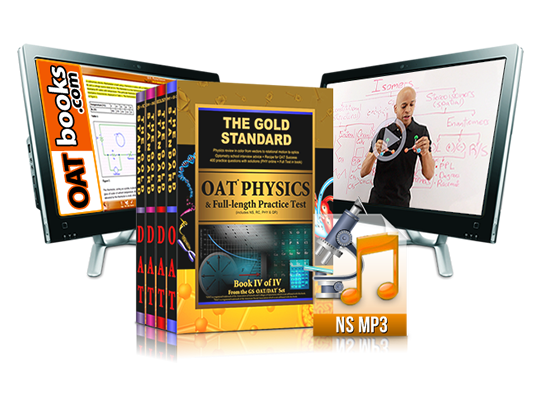 Complete OAT Prep Review: Home Study Course with 5 Full-length Practice Tests (4 Books, Online Videos, MP3s, Software for the Optometry Admission Test and Interview DVD)